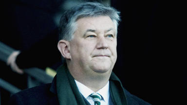 Quality shot of Celtic chief executive Peter Lawwell.