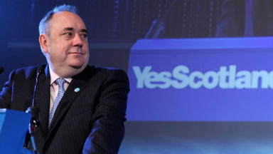 First Minister Alex Salmond launches the Yes Scotland campaign for independence.