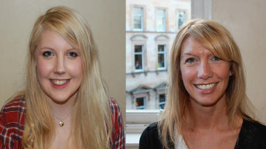 Fairytale: Kirsty May Hamilton (left) and Jody Jameson are looking forward to performing with the group.