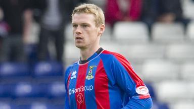 Inverness CT striker Billy McKay.