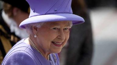 Queen: The annual garden party will take place. (file pic)