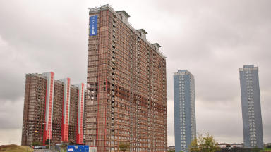 Red Road High Rise Flats Glasgow by J@ck on Flickr: http://flic.kr/p/axJ5WJ