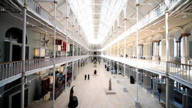 Visitor boost: National Museum of Scotland.