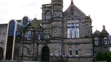 Kirkcaldy Sheriff Court.