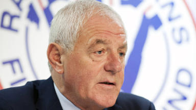 Walter Smith former Rangers manager.
