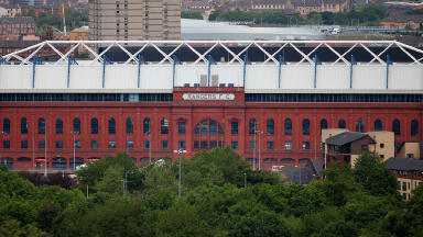 Ibrox Rangers stadium
