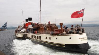 The Waverley Paddle Steamer