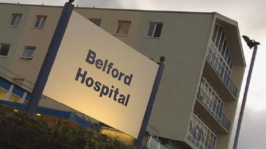 Belford Hospital: Six patients show symptoms of diarrhoea and vomiting.