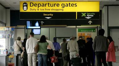 Popular: Edinburgh Airport has been boosted by new services (file pic).