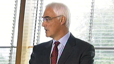 Alistair Darling: The former Chancellor is leading the pro-Union campaign.