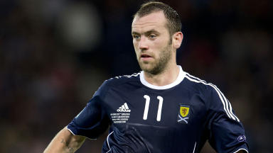 Scotland international James McFadden.