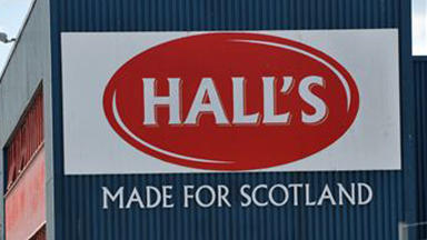 Closure: The site of the Hall's factory has been empty since it closed three years ago. (file pic)