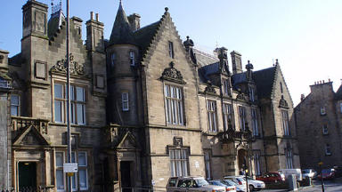 Stirling Sheriff Court.