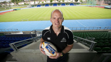 Glasgow Warriors head coach Gregor Townsend at Scotstoun Stadium.