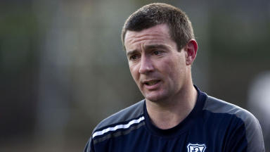 Dundee manager Barry Smith in July 2012.
