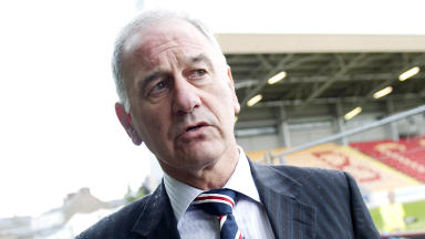 Charles Green: Rangers chief executive made remarks following game.