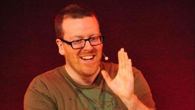 Aye Write: Frankie Boyle to talk about the books that shaped his comedy.
