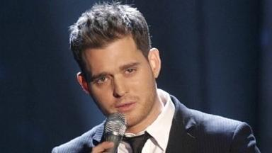 Michael Buble: Simon Cowell snubbed the singer.
