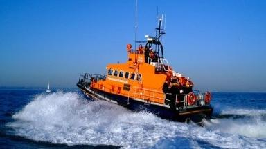 RNLI: The South Queensferry lifeboat was responding to reports of a ditched aircraft.