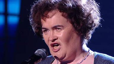 Susan Boyle's glam photoshoot