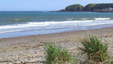 Summer on Stonehaven Beach