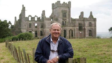 Jack Nicklaus: Golfer at the Ury Estate, where he wants to construct a new golf course.