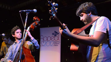 Matt Norris and the Moon at STV Appeal 2012