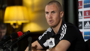 Scotland striker Kenny Miller.