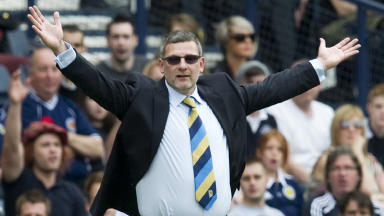 Craig Levein, September 2012.