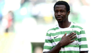Celtic defender Efe Ambrose.