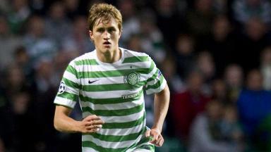Celtic defender Thomas Rogne.