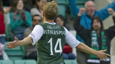David Wotherspoon, Hibs 2-2 Inverness, September 2012.