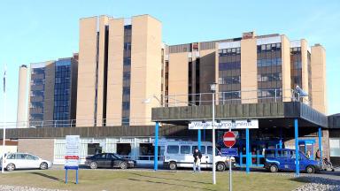 Raigmore Hospital at Inverness.