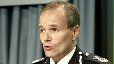 Stephen House: The first Chief Constable of the new Police Service of Scotland.