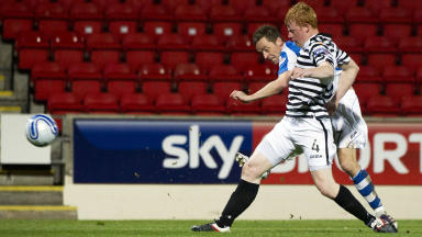 St Johnstone striker Steven MacLean.