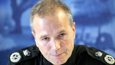 Strathclyde Police chief constable Stephen House who will lead the new single police force in 2013.