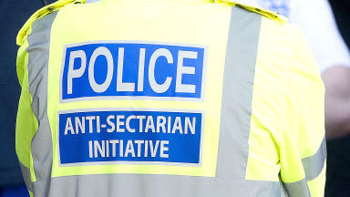 Police anti-sectarian officer