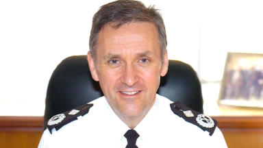 Strathclyde Police acting chief constable Campbell Corrigan.