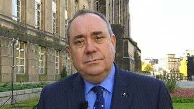Alex Salmond, Scotland Tonight, 15/10/2012.