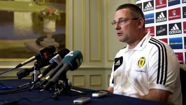 Scotland manager Craig Levein.