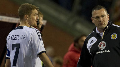 Darren Fletcher, Craig Levein, Belgium 2-0 Scotland, October 2012.