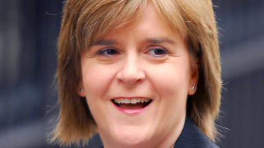Nicola Sturgeon deputy first minister and second in command at SNP