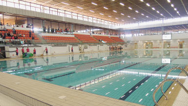 The revamped Royal Commonwealth Pool in Edinburgh which will be the diving venue of Glasgow 2014.