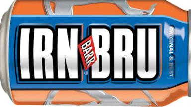 Irn-Bru: The meaty treats have been infused with Scotland's other national drink.