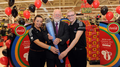 Olympic torch: The Paralympic Torch will be in Rutherglen in 2012