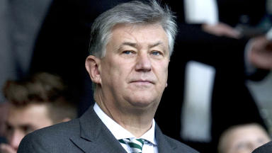 Celtic chief executive Peter Lawwell quality image