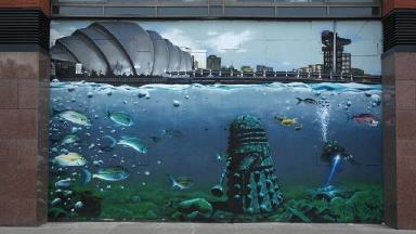 Rogue One's Clyde Street mural was a commission by Art Pistol.