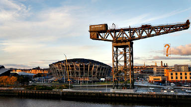 Taking shape: The Hydro will hold 12,000 people.