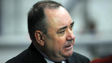 Salmond: Faces sexual assault charges (file pic).