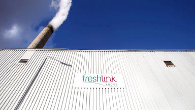 Freshlink Foods in Shettleston, Glasgow, is to close as a sausage factory. ABP Foods.